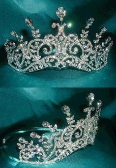 """""""Tiara of the Royal Princess of Ossetia.""""  We're clear that this is fantasy, right? Prettier than average faux."""