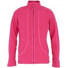 Poivre Blanc Girls Pink Polar Fleece Jacket | AlexandAlexa