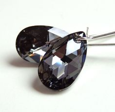 Swarovski+Crystal+Night+Teardrop+Earrings++by+LoveYourBling,+$17.00