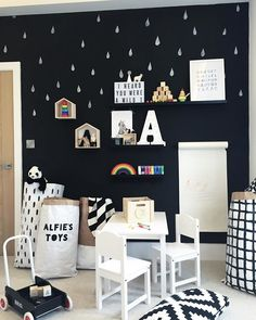 Loving the house shelves in Alfie's playroom. These will be available on the little interiors section of our website over the weekend.