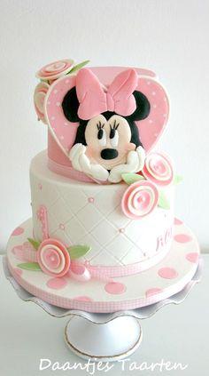 Tartas de cumpleaños - Birthday Cake - Minnie Cake