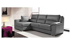 Es sofá Modelo Soria de Pedro Ortiz destaca por lo sobrio de su diseño. Está disponible en tela y piel.