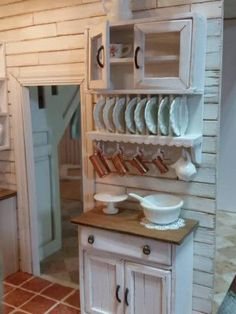 Plate Rack - My First Dollhouse - Beacon Hill - Gallery - The Greenleaf Miniature Community