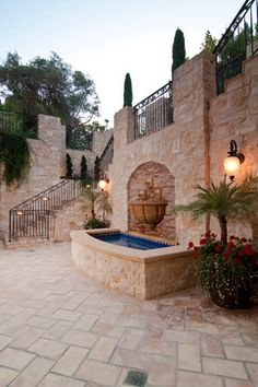 Essential outdoor lighting and landscape that fits any neighborhood.