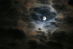 Full Moon Photography   Dramatic Night Sky Photography Full Moon & Clouds Photography Fine art ...