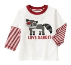 NWT Gymboree VALENTINES DAY Love Bandit Long Sleeve Shirt  Available in our online store at http://stores.ebay.com/starbabydesignshomestore