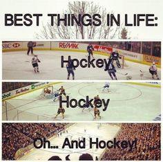 Hockey Humor | Hockey | Hockey jokes information and pics | Pinterest #icehockey #ice #hockey #love