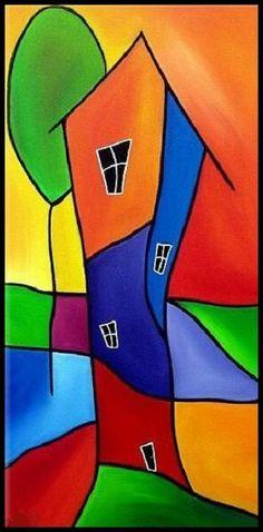 Art: Good Living - by Artist Thomas C. Fedro Art: Good Living - by Artist Thomas C. Art Fantaisiste, Arte Pop, Art Portfolio, Whimsical Art, Painting Inspiration, Art Lessons, Art For Kids, Modern Art, Pop Art