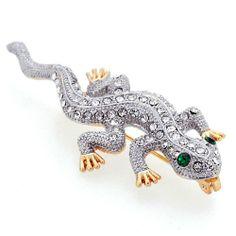 Crystal Lizard Pin Brooch Fantasyard,http://www.amazon.com/dp/B00GJ3S30G/ref=cm_sw_r_pi_dp_1Inhtb049CRRWH9E