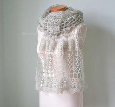 SAGE Crochet shawl pattern pdf