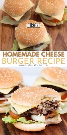 Cheesy Recipes, Veggie Recipes, Beef Recipes, Vegetarian Recipes, Healthy Recipes, Hamburger Recipes, Vegetarian Cooking, Veggie Food, Drink Recipes