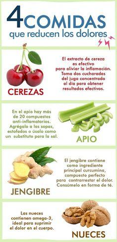 Conoce los #alimentos que tienen #propiedades  #analgésicas y llévalos contigo a todas partes. #AlimentosQueQuitanDolor #Salud #SabíasQue #RemediosCaseros #Remedios