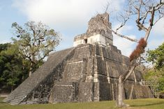 Temple of the Masks, Tikal, Guatemala