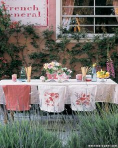 """See the """"Courtyard Cocktail Party"""" in our Outdoor Party Ideas gallery"""