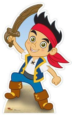 Jake and the neverland Pirate cutout