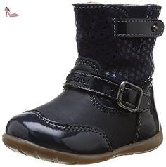 Geox B Kaytan, Boots bébé fille - Bleu (Dk Navy), 24 EU - Chaussures geox (*Partner-Link)