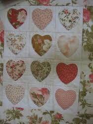 Afbeeldingsresultaat voor quilts applique heart