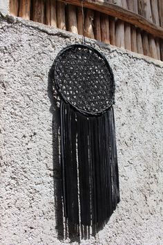100% real suede leather and crochet dream catchers, made in Mexico by DreamsMexico on Etsy https://www.etsy.com/uk/listing/536668695/100-real-suede-leather-and-crochet-dream