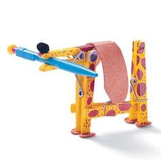 Laboratori per bambini: giraffa portapenne