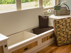 Window Seat With Storage | DIYNetwork