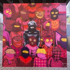 Banksy and Os Gemeos graffiti/street art - Better Out Than In: An artists residency on the streets of New York. Banksy New York, Art Banksy, Bansky, Banksy Posters, Banksy Canvas, Urbane Kunst, Best Street Art, Wow Art, Art Graphique