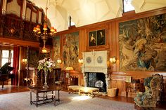 The castle is home to a superb collection of arms, armour and paintings, including works by Batoni, Raeburn and Gainsborough. A particularly active period of art collecting was in the late 19th century, when Alexander Forbes Leith purchased the Castle in 1889 through his fortune made in the American Steel Industry.