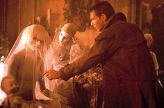 Daryl Hannah and Harrison Ford in Blade Runner directed by Ridley Scott, 1982 Blade Runner Pris, Film Blade Runner, Blade Runner 2049, Frankenstein, Tv Movie, Denis Villeneuve, Daryl Hannah, Sci Fi Films, Ridley Scott