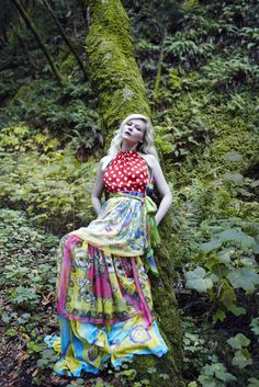 Kirsten Dunst graces on the nature background for the February issue of Vogue Italia lensed by Yelena Yemchuk and styled by Leith Clark.