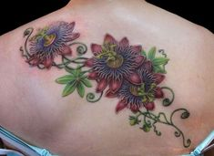 passion flower tattoo - Google Search
