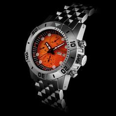 Police Watches, Big Watches, Cool Watches, Rolex Watches, Watches For Men, Watch Blog, Watch Model, Black Opal, G Shock