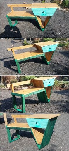 As there are so many designs and ideas of the seat furniture is being settled for your house. But majority of the designs of seat furniture structure are based on the moderate form of sizes. It is looking so stylish and modest. Give a quick look at this simple and creative design of the wood pallet seat with the drawer is set out.