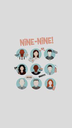 Brooklyn Nine Nine Funny, Brooklyn 9 9, Purple Aesthetic, Retro Aesthetic, Shows On Netflix, Netflix Series, Brooklyn 99 Actors, Cute Wallpapers For Computer, Television Program