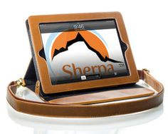 The Sherpa Magnetic- carrying case with stand and strap.