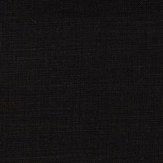 Formenti 100% Linen Black from @fabricdotcom  This linen fabric is soft with a nice texture and full bodied drape. It is perfect for dresses, pants and warm weather suits as well as pillows and window treatments.