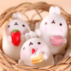 NEW Mochi Squishy Cat Squeeze Healing Fun Kids Kawaii Toy Stress Reliever Decor in Cell Phones & Accessories, Cell Phone Accessories, Straps & Charms Mochi, Slime And Squishy, Rabbit Drawing, Chicken Cages, Wooden Rabbit, Best Kids Toys, Cute Japanese, Japanese Snacks, Fidget Toys
