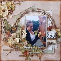 Gorgeous layout by Tina Ollett, using papers from MajaDesign's Walking in the Forest.    #layout #LO #lo #scrapbooking #scrapbook #scrapping #scrap #papercraft #papercrafting #papercrafts #majadesign #majadesignpaper #majapapers #inspiration #vintage