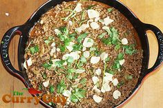 This lamb keema curry recipes is quick, easy and delicious. Best selling cookbook author Dan Toombs aka The Curry Guy shares this mouthwatering recipe. Balti Recipes, Keema Curry Recipe, Best Selling Cookbooks, Garlic Paste, Le Creuset, Garam Masala, Curries, Curry Recipes, Fodmap