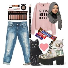 """""""WHAT'S UP! Back For a second :("""" by nabillasyarah ❤ liked on Polyvore featuring Sans Souci and Laneige"""