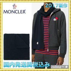 セレブ愛用者多数☆MONCLER☆fine knit scarf