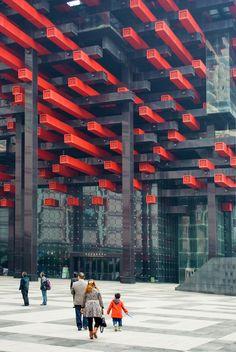Chongqing China Klaus Lehnert Fotograf Berlin Architekturfotografie art photography architectural photographer