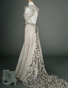 Margaery Tyrell's wedding gown. WOW.