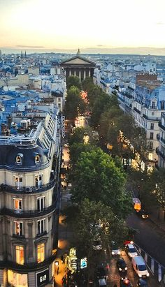 Rue Royale at Dusk, La Madeleine in the background, Paris, France Places Around The World, Oh The Places You'll Go, Places To Travel, Places To Visit, Around The Worlds, Torre Eiffel Paris, Tour Eiffel, Belle Villa, Adventure Is Out There