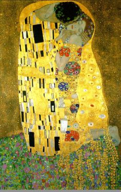 The Kiss (1909), Gustav Klimt