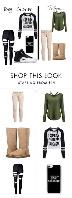 """""""Gift Guide"""" by awseome-girl-5953 ❤ liked on Polyvore featuring UGG, WithChic and Casetify"""