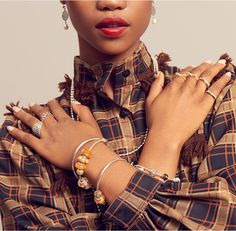 Explore the amazing trend, which is back on everybody's lips this summer: The 70's suede and vintage coolness. #PANDORAmagazine #PANDORAstyle
