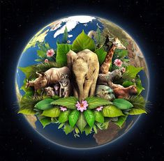 """""""Happy earth day everyone! Earth day is an essential observance because our planet earth is everyones home! Nagoya, Mother Earth, Mother Nature, Earth Day Pictures, Earth Day Posters, Green Earth, Happy Earth, We Are The World, Save The Planet"""