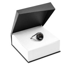 Jimin Version – Love BTS Forever and Ever (Black) – Signet Circle Ring Stainless Steel Necklace, Stainless Steel Rings, Dog Shadow Box, Circle Pendant Necklace, Glass Coating, Memorial Jewelry, Memorial Gifts, Circle Design, Signet Ring