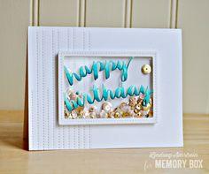 Happy Birthday Shaker by Lindsay