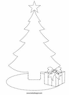 Get the kids tracing lines to match the decoration to the tree! Once that's all done then get them to colour it in! NOTE: I've also tried this as a sticker tracing worksheet which the kids LOVE! Christmas Worksheets, Christmas Activities For Kids, Preschool Christmas, Christmas Printables, Preschool Activities, Christmas Colors, Christmas Art, Christmas Projects, Art For Kids