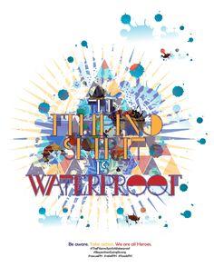 The Filipino Spirit is Waterproof